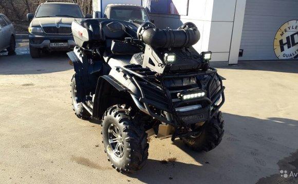 Продаю CF moto X8 — фотография