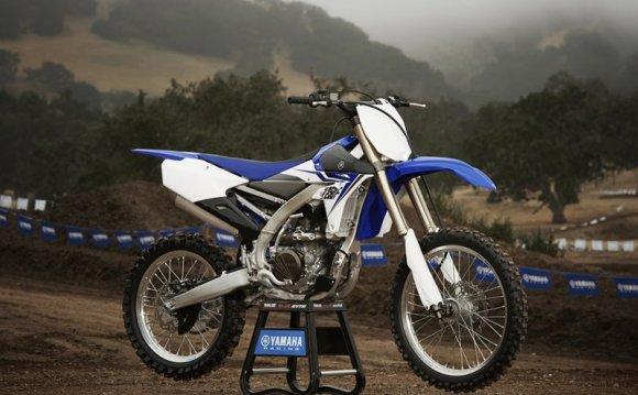 Yamaha → Кроссовый мотоцикл