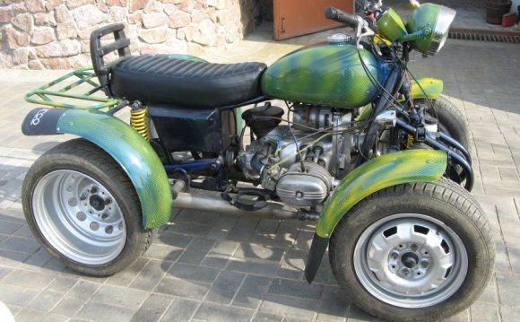 Квадроцикл сваими руками