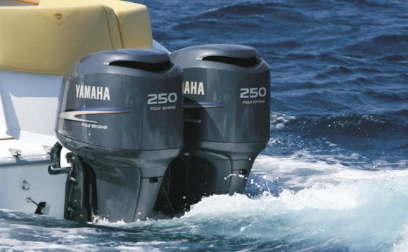Лодочный мотор Yamaha F300B
