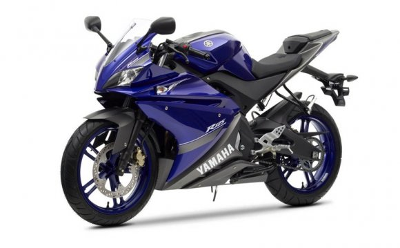 Мотоциклы Yamaha Race Blu