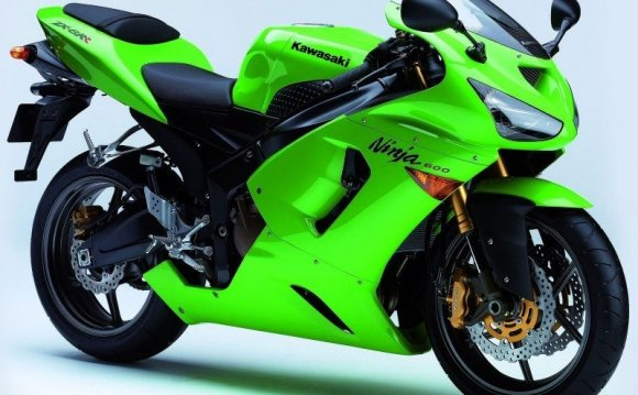 Мотоцикл Kawasaki на