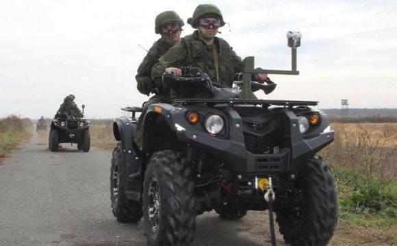 военные квадроциклы имеют