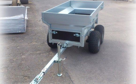 Двухосный прицеп ATV для