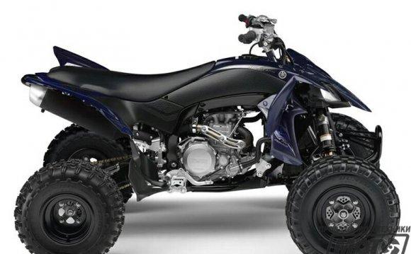 Спортивный квадроцикл Yamaha