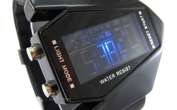 Светодиодные часы Стэлс микс