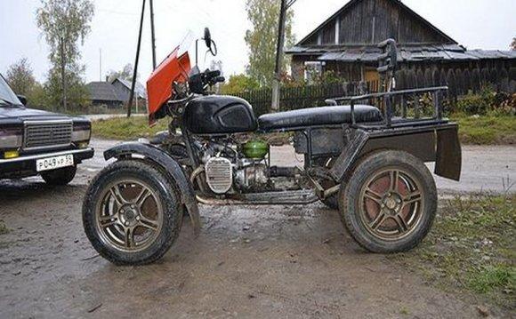 Квадроцикл полный привод своими руками урал112
